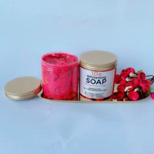 10x whitening soap size 500ml